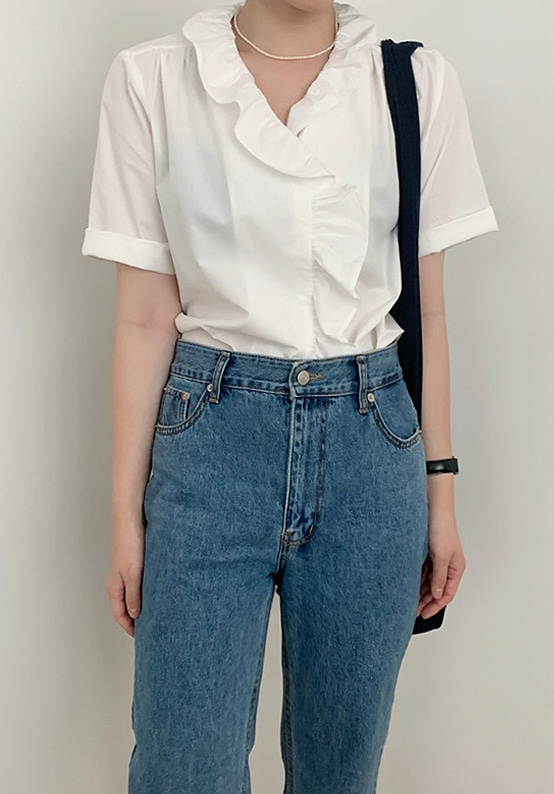 rosie frill blouse