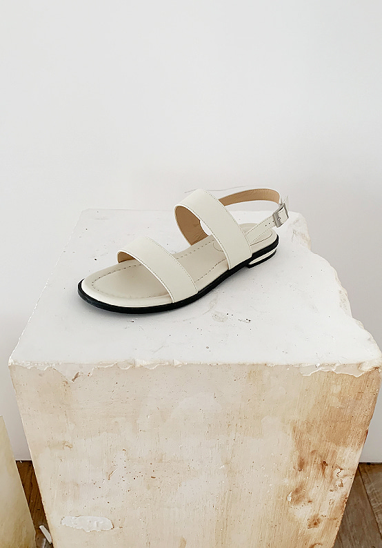 natural sandal(cream)