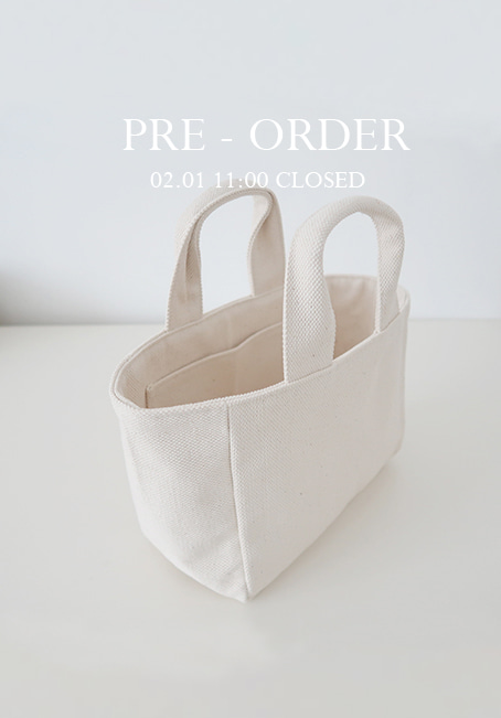 [PRE-ORDER]mini echo bag